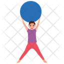 Fitness Ball Icon
