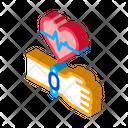 Fitness Tracker Gadget Icon