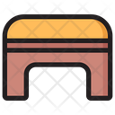 Fitness Bench Gym Bench Fitness Equipment Icon