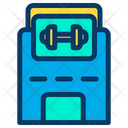 Fitness Building Icon