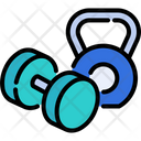 Dumbbell Fitness Workout Icon