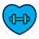 Fitness Love Icon