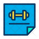 Fitness Notes Icon