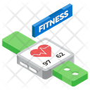Fitness Tracker Health Tracker Fitness Device Icon