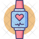 Fitness Tracker Smartwatch Fitness Icon