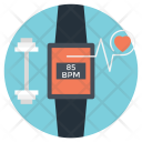 Smartwatch Wearable Tracker Icon