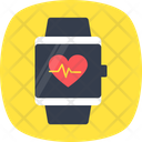 Fitness Tracker Heart Icon
