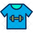 Fitness T Shirt Icon