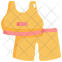 Fitness Uniform Cloth Icon