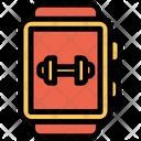 Smart Watch Wristwatch Gym Icon