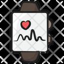 Wearable Tech Fitness Tracker Activity Tracker Icon