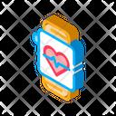 Cardiogram Cardiology Counter Icon