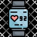 Watch Smart Heart Icon