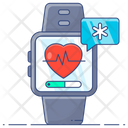 Smartwatch Healthcare Watch Fitness Watch Icon