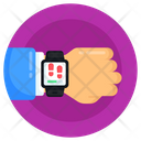 Health Watch Fitness Watch Fitness Tracker Icon
