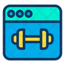 Fitness Website Icon
