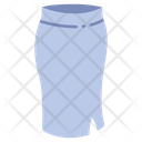 Fitted skirt Icon
