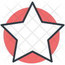 Five Pointed Star Icon