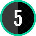 Five Number Count Icon
