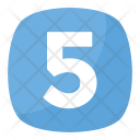 Five 5 Number Icon