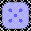 Five Dice Icon