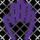 Five Finger Icon