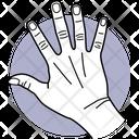 Five Fingers Fingers Finger Icon