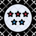 Fivestar Ranking Hotel Icon