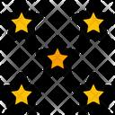 Five Star Star Favorite Icon