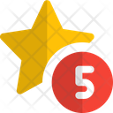 Five Star Star Rating Icon