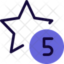 Five Star Icon