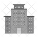 Five Star Building Icon