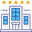 Five Stars Hotel Five Star Icon