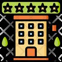 Hotel 5 Star Icon