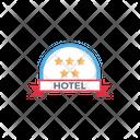 Hotel Fivestar Rank Icon