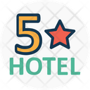 Five Star Hotel Hotel Hotel Category Icon