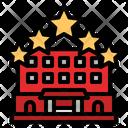 Five Star Hotel Hotel Star Icon