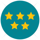 Five Stars Review Icon