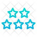 Five Star Rating Icon