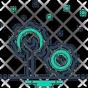 Fix Cogwheel Tool Icon