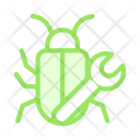 Bug Fix Virus Icon