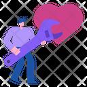 Repair Love Heart Icon