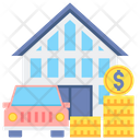 Fixed Assets Fixed Asset Fixed Property Icon