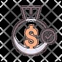 Fixed Deposit Fd Financial Savings Icon
