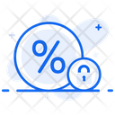 Fixed Interest Rate Fixed Profit Returns Rate Icon