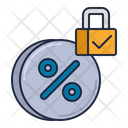 Fixed Interest Rate Icon