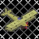 Fixed Winged Jet Icon