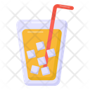 Juice Soft Drink Drink Glass Icon