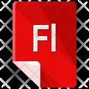 Fl File Format Icon