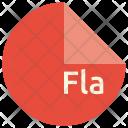 Fla File Format Icon